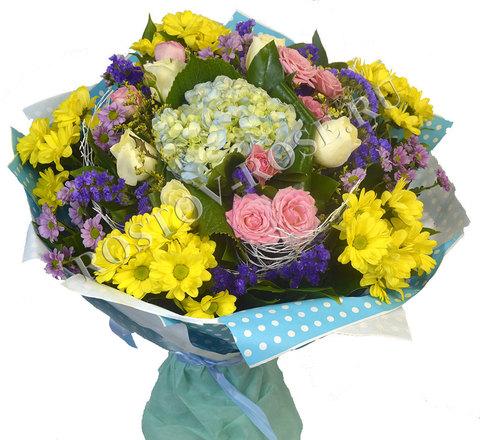 Цветочная композиция Королева цветов
