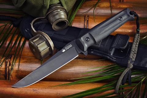Тактический нож Croc AUS-8 Black