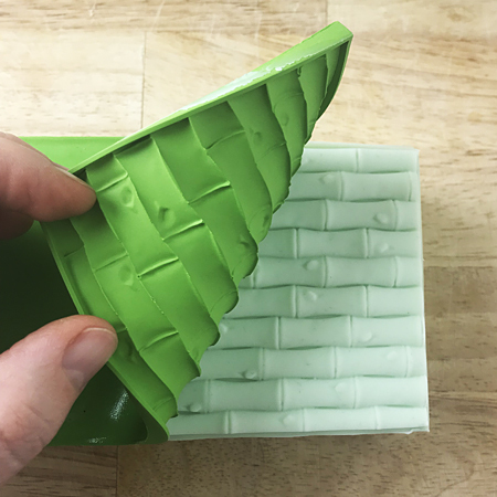 Текстурный лист для мыла Бамбук