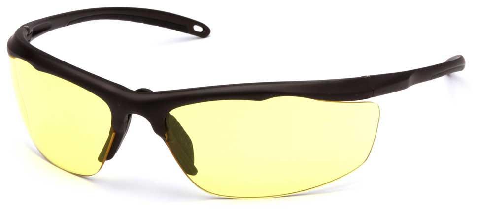 Очки баллистические стрелковые Pyramex Zumbro VGSBR230T Anti-fog желтые 89%