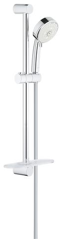New Tempesta Cosmopolitan 100 IV Душевой гарнитур с полочкой, 600 мм, 9,5 л/мин