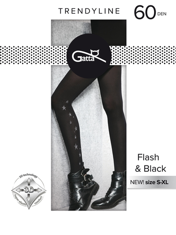 Колготки Flash & Black 02 Gatta