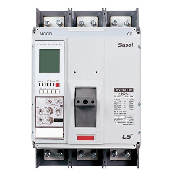 Автоматический выключатель TS400H (85kA) ETS33 400A 3P3T