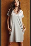 Свободное домашнее платье Twin-Set