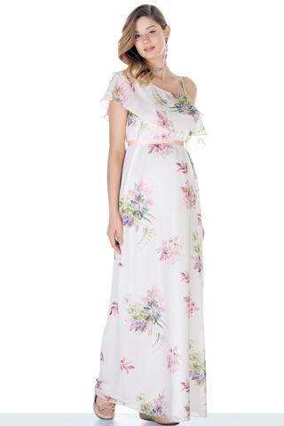 Платье 09577 цветы