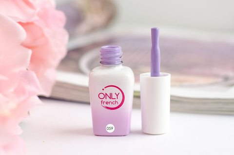 Гель-лак Only French, Violet Touch №059, 7ml