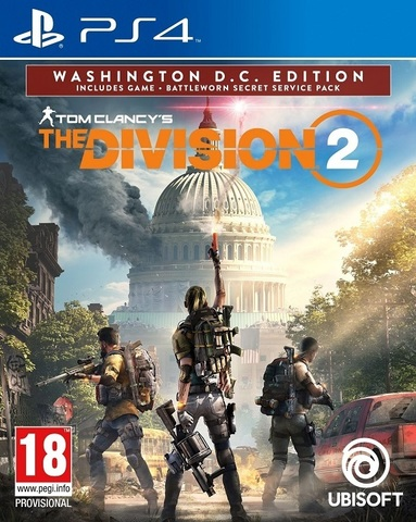 Sony PS4 Tom Clancy's The Division 2. Washington, D.C. Edition (русская версия)