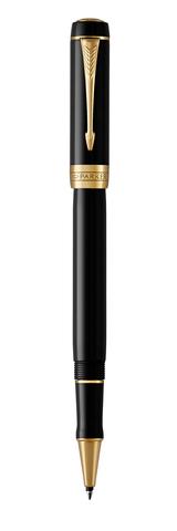 Ручка-роллер Parker Duofold Classic International, Black GT, FBlack123