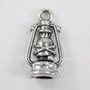 "Подвеска ""Лампа Аладдина"" 20х8 мм (цвет - античное серебро)"