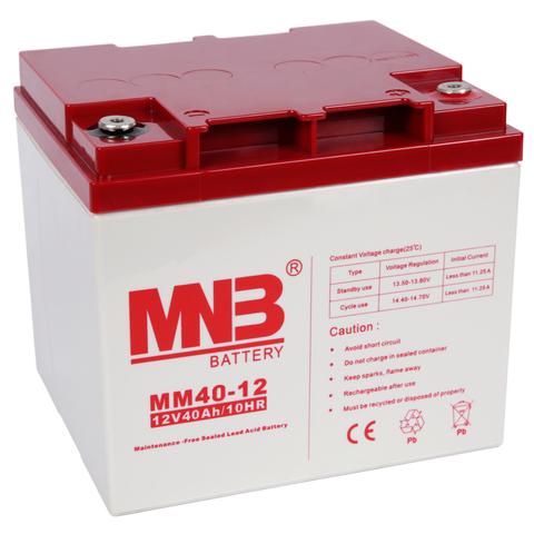 Аккумулятор MNB MM 40-12 - фото 2