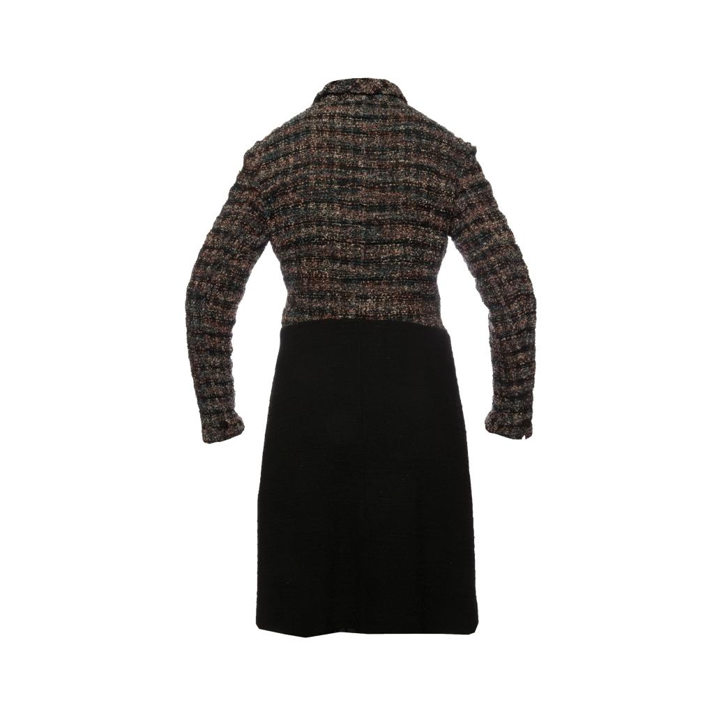 Элегантное твидовое пальто от Chanel, 38 размер.
