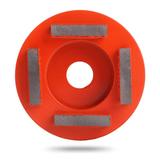 Алмазная шлифовальная фреза Messer тип M для средней шлифовки (4 сегмента)