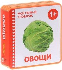 Мой первый словарик.  Овощи