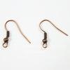 Швензы - крючки с шариком и пружинкой, 18 мм (цвет - античная медь), 5 пар