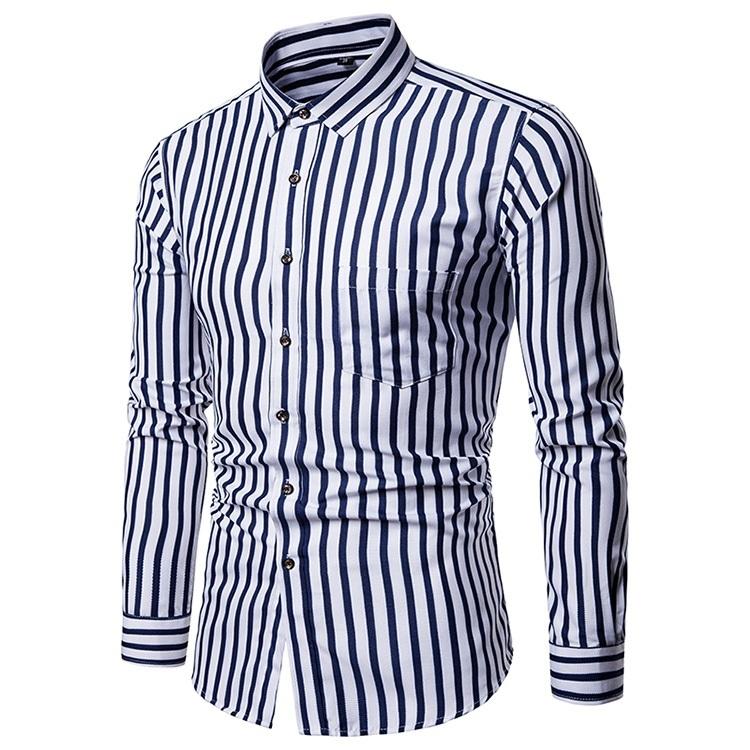 мужские рубашки Мужская рубашка Slim Fit 9.jpg