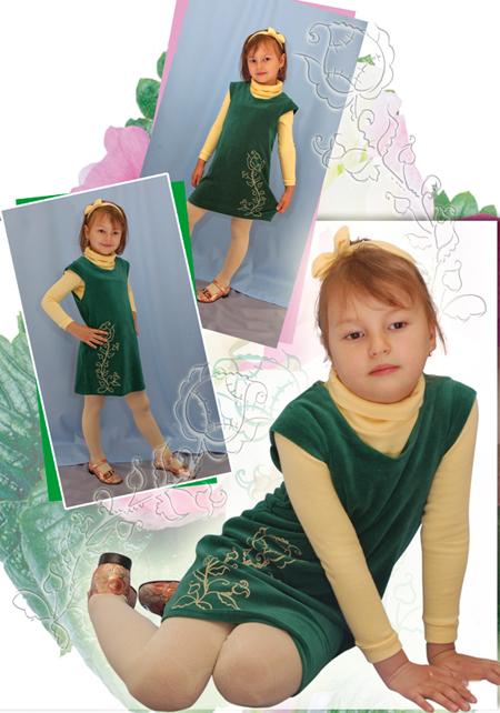 Выкройка сарафана для девочки