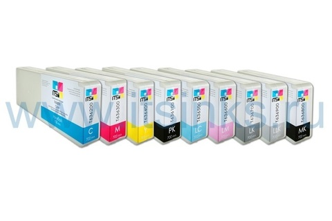 Комплект из 9 картриджей для Epson SC-P6000/P8000 9x700 мл