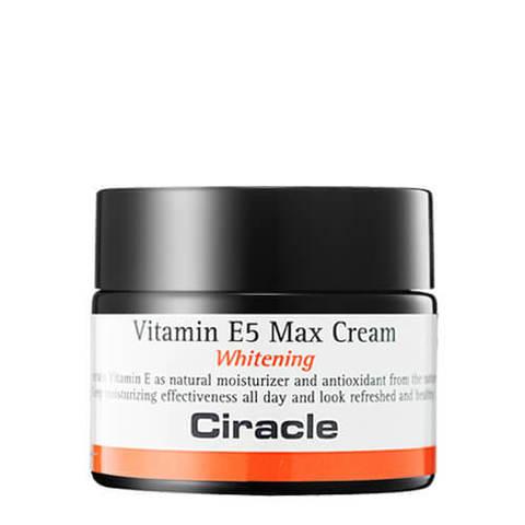 CIRACLE Vitamin E5 Max Cream Крем Витамин Е5 для лица осветляющий 50 мл