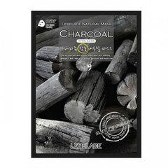 Lebelage Charcoal Natural Mask - Тканевая маска для лица с экстрактом древесного угля