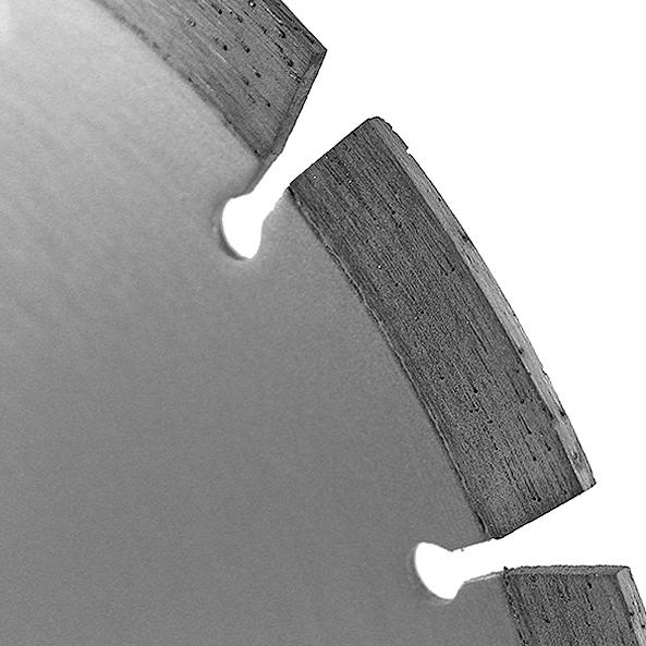 Алмазный диск по железобетону 230х22,23 мм Messer FB/M