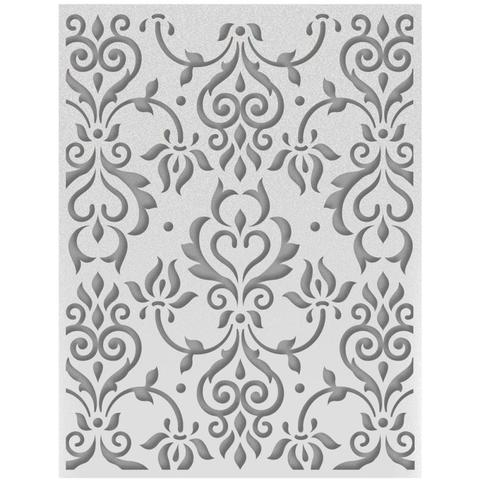 Папка для тиснения Ultimate Crafts Embossing Folder A2 -Zephyr Flourish