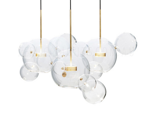 REPLICA BOLLE CHANDELIER LIGHT LARGE 3  BY GIOPATO & COOMBES