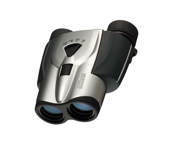 Бинокль T11 8-24x25 zoom серебристый