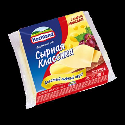 "Сыр плавленый ""Hochland"" маасдам, 150 г"