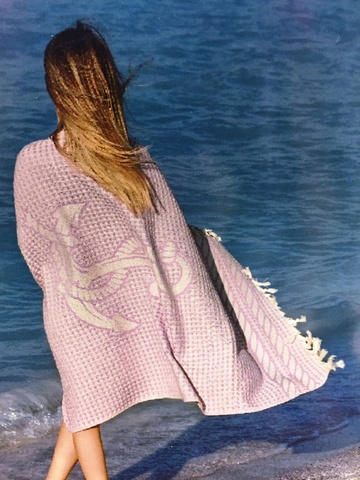 Полотенце MARIN BEACH - МАРИН БИЧ для сауны, спа, бассейна   100х200 Maison Dor (Турция)