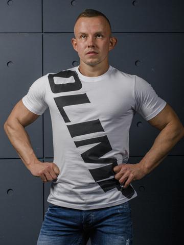 Мужская футболка Olimp Live & Fight Sash White