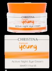 FOREVER YOUNG ACTIVE EYE NIGHT CREAM - Активный ночной крем для кожи вокруг глаз