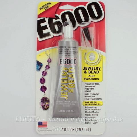 Клей E6000 c аппликатором (29,5 мл)