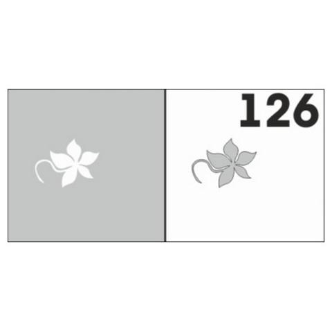 Трафарет для ногтей 6 шт. /1 уп. №126