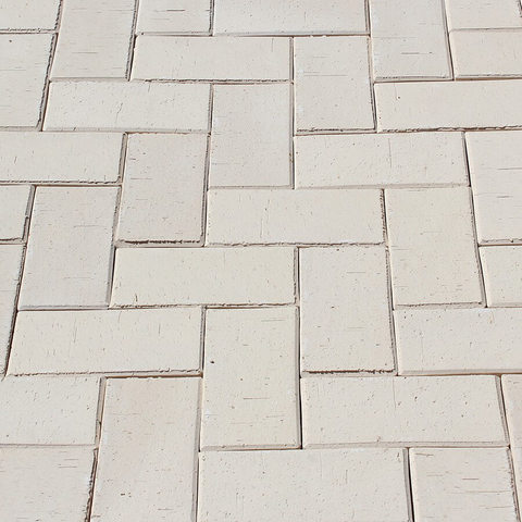 ЛСР, RAUF Design, Белый Венеция, 200x100x50 - Клинкерная тротуарная брусчатка