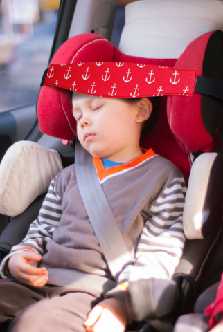 Повязка на голову ребенка для мальчика Клювонос Якорь