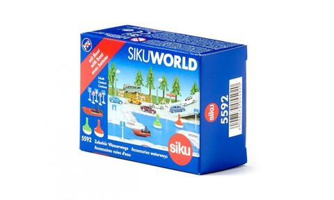 Катер и речные знаки «SIKU WORLD»