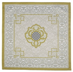 Салфетки 40x40 Blonder Home Broderick зеленый