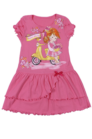 Basia Л902-3934 Платье для девочки гиацинт