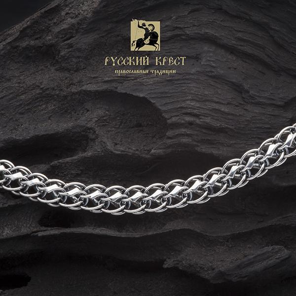 Цепочка серебряная плетение Белка