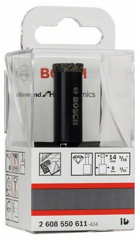 Алмазное сверло по керамограниту BOSCH 14х35 мм - Diamond for Hard Ceramics Bosch