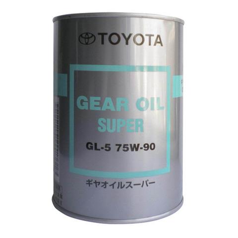 TOYOTA GEAR OIL SUPER GL5 75W90 Масло трансмиссионное (железо/Япония)