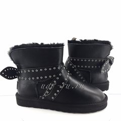 UGG Cameron Leather Black