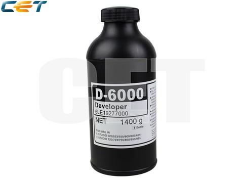 Девелопер D-6000 для TOSHIBA E-Studio 520/523/555/600/603/655/720/723/755 (CET), 1400г, 400000 стр., CET8872