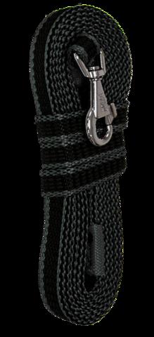 Зооник поводок капроновый с двойной латексной нитью 3м* 20мм, серия