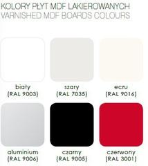 Варианты цвета для подлокотников Panda