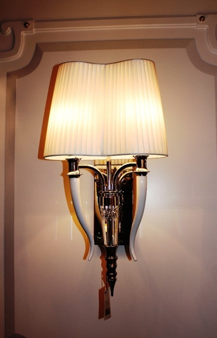 replica wall lamp  , Visionnaire Brunilde Chandelier - Ipe cavalli ( black + gold  )