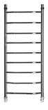 Полотенцесушитель  водяной   L45-124  120х40