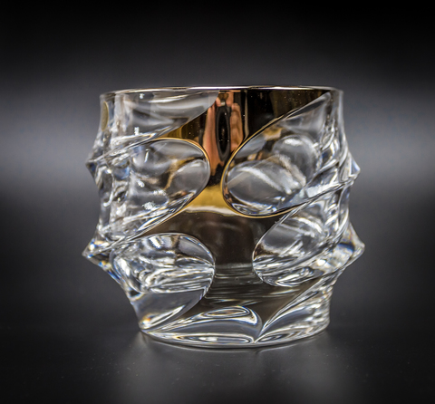 Набор из 6 стаканов для виски «Calipso», золото
