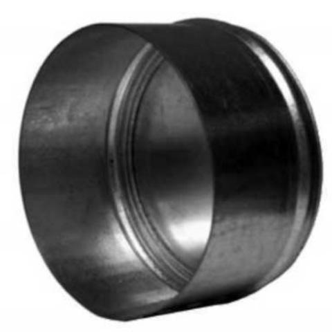 Заглушка D 355 мм оцинкованная сталь