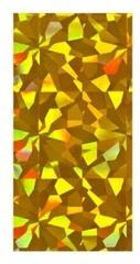 Фольга Золотая голографика 1,5 м EMI